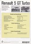 R5 GTTURBO 1985-1987
